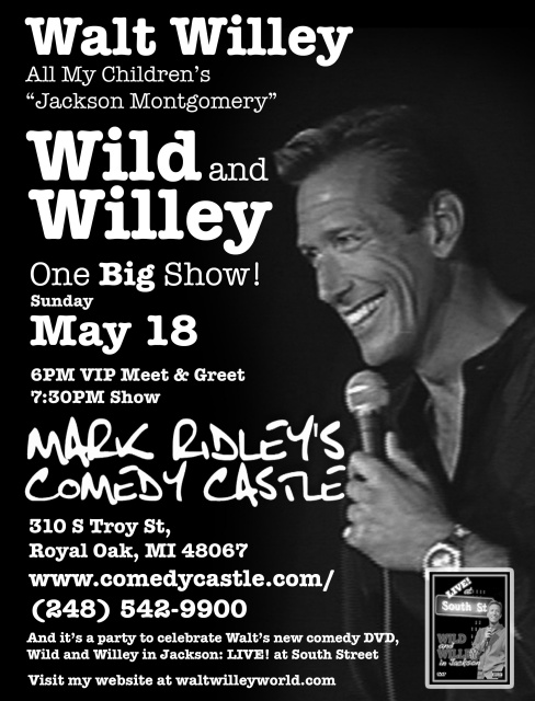 Wild and Willey Comedy Tour - Royal Oak MI